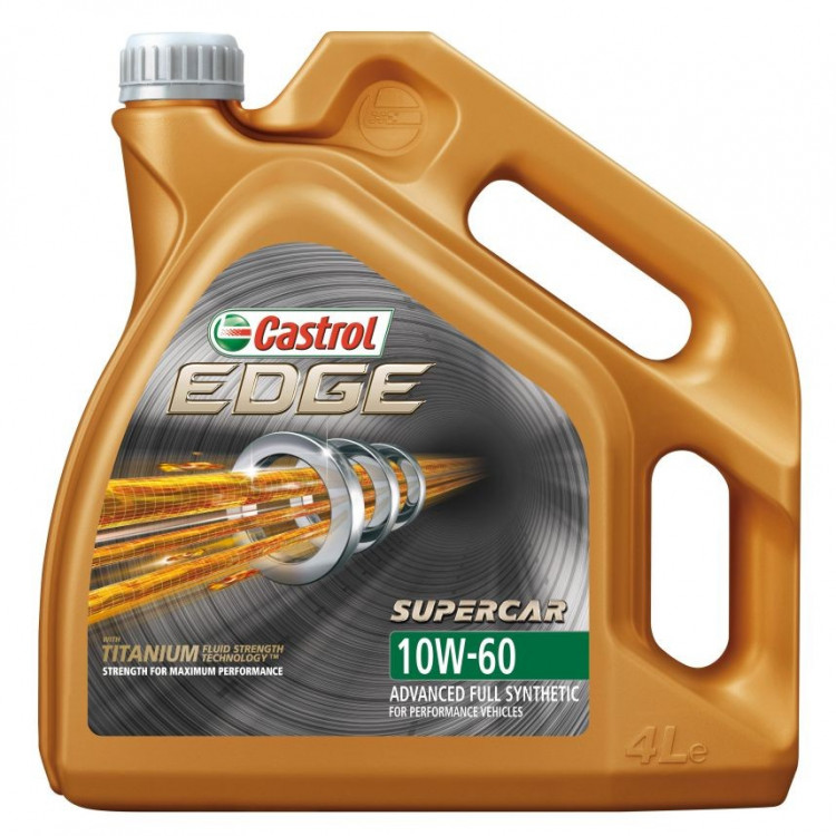 Castrol Edge Supercar 10W-60 4 л