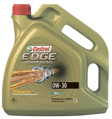 Castrol EDGE Turbo Diesel 0W-30 4 л