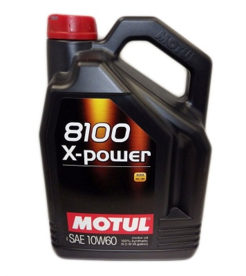 Motul 8100 X-Power 10W60 5 л