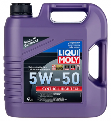 LIQUI MOLY Synthoil High Tech 5W-50 4 л